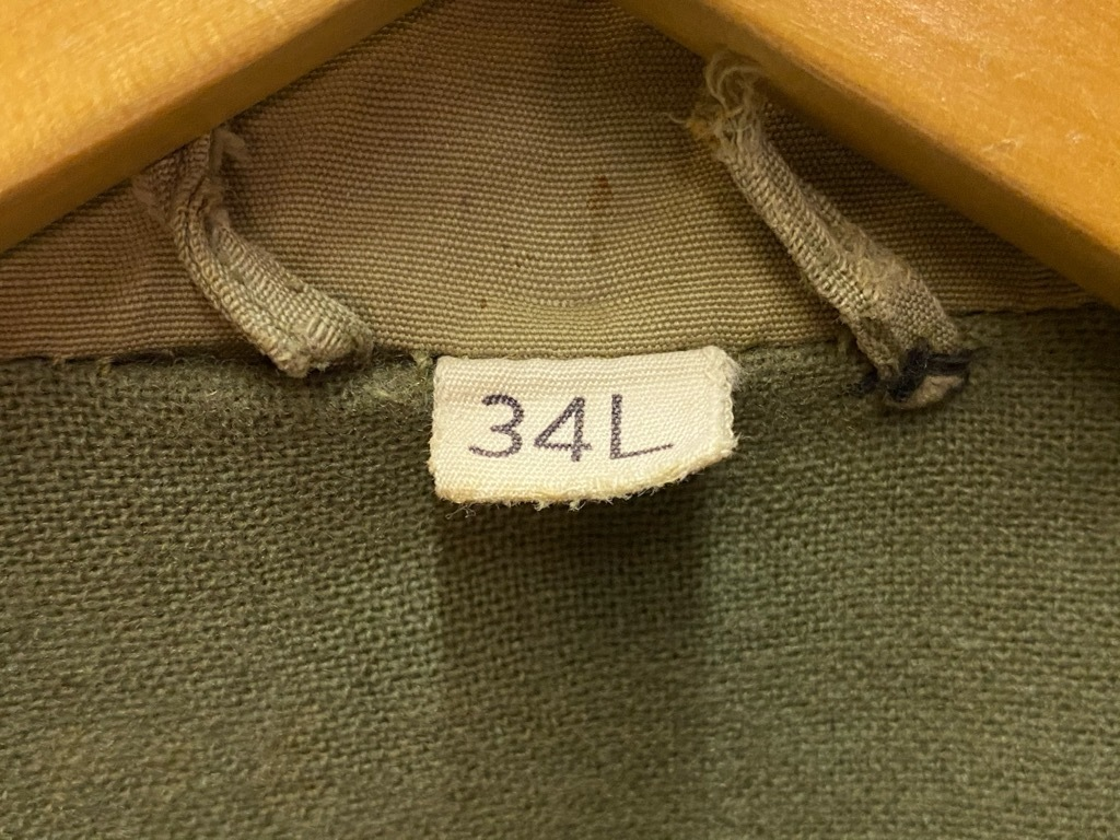 11月4日(水)マグネッツ大阪店Vintage入荷日!! #6 U.S.Army Part1編 M-42 Mackinaw,M-41 FieldJKT,Hi-NeckSweater!!_c0078587_17365816.jpg