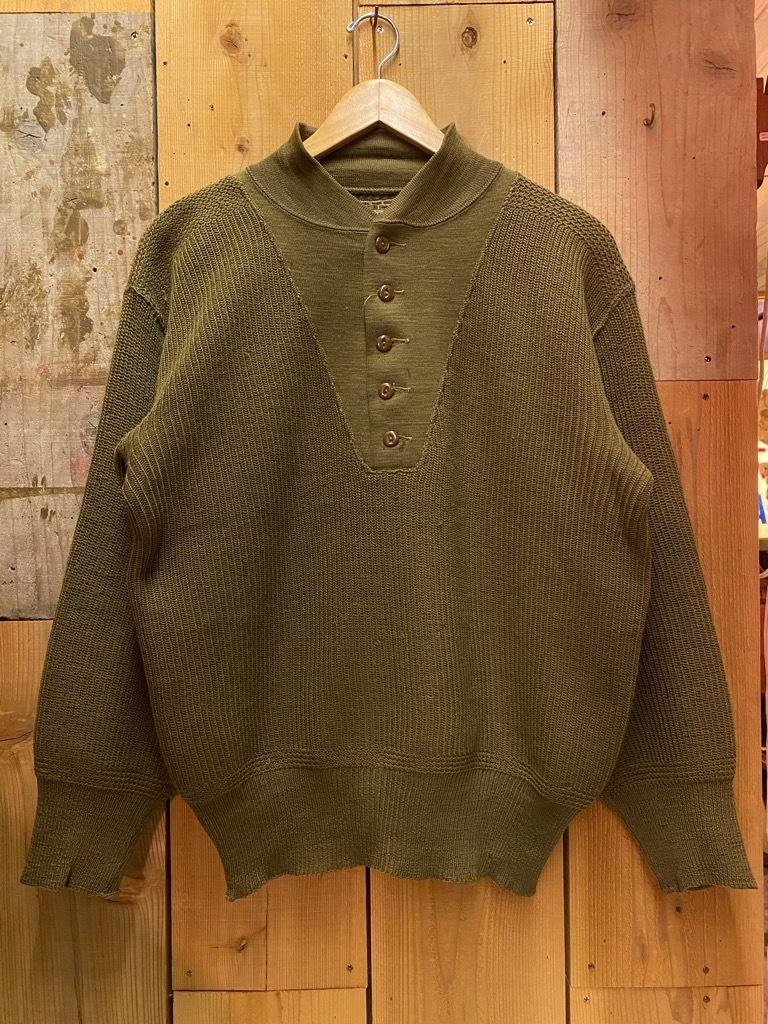 11月4日(水)マグネッツ大阪店Vintage入荷日!! #6 U.S.Army Part1編 M-42 Mackinaw,M-41 FieldJKT,Hi-NeckSweater!!_c0078587_17394256.jpg