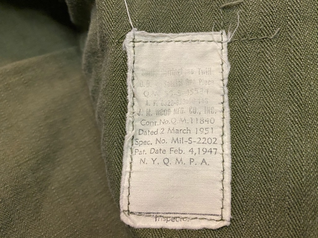 11月4日(水)マグネッツ大阪店Vintage入荷日!! #6 U.S.Army Part1編 M-42 Mackinaw,M-41 FieldJKT,Hi-NeckSweater!!_c0078587_18113297.jpg
