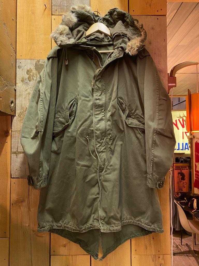 11月4日(水)マグネッツ大阪店Vintage入荷日!! #7 U.S.Army Part2編 M-51 FishtailParka,M-47 MountainParka,M-42 MountainS_c0078587_19025575.jpg