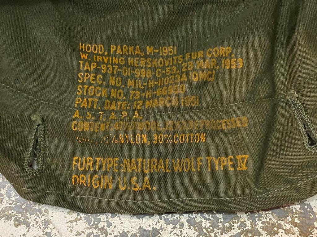 11月4日(水)マグネッツ大阪店Vintage入荷日!! #7 U.S.Army Part2編 M-51 FishtailParka,M-47 MountainParka,M-42 MountainS_c0078587_19501437.jpg