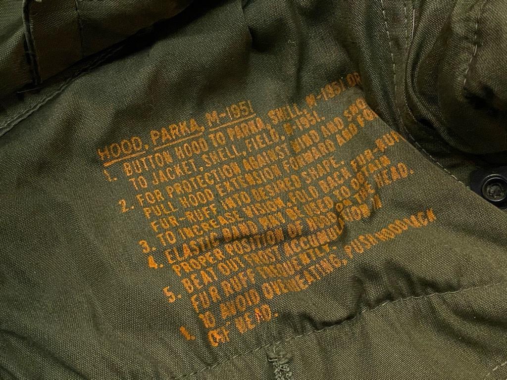 11月4日(水)マグネッツ大阪店Vintage入荷日!! #7 U.S.Army Part2編 M-51 FishtailParka,M-47 MountainParka,M-42 MountainS_c0078587_19501737.jpg