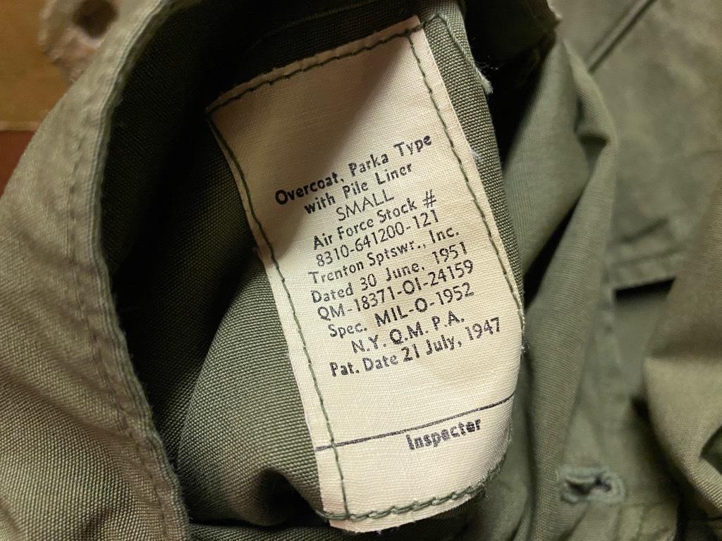 11月4日(水)マグネッツ大阪店Vintage入荷日!! #7 U.S.Army Part2編 M-51 FishtailParka,M-47 MountainParka,M-42 MountainS_c0078587_20065557.jpg