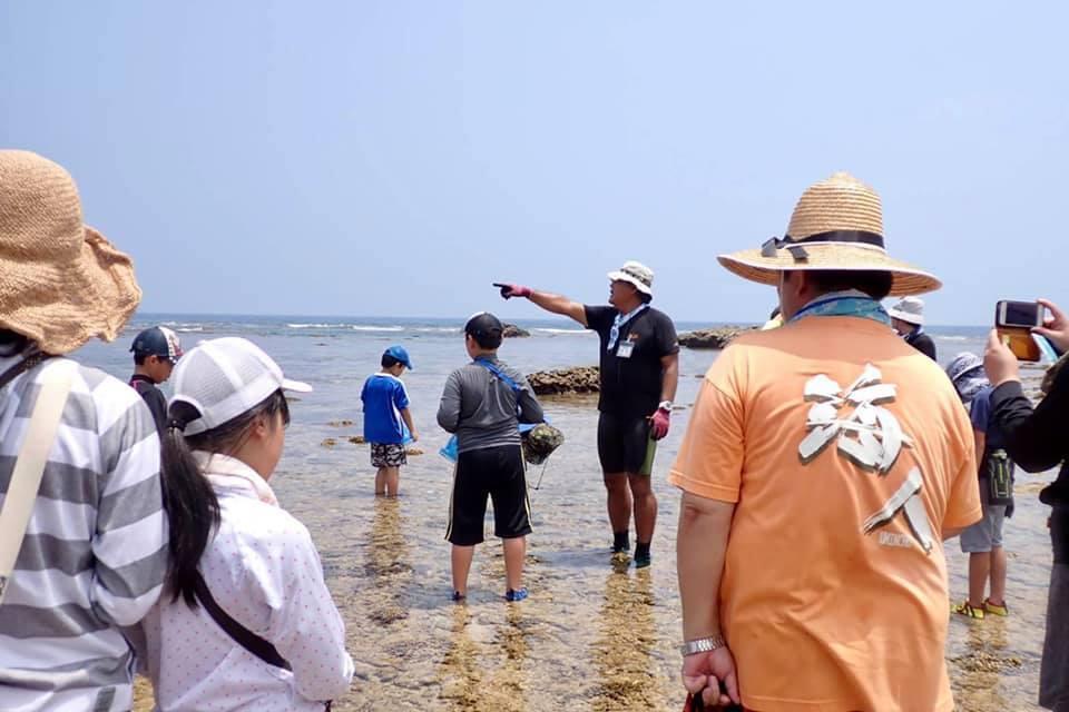 8/2 サンゴ礁観察会&ウミガメ調査_a0010095_21203751.jpg