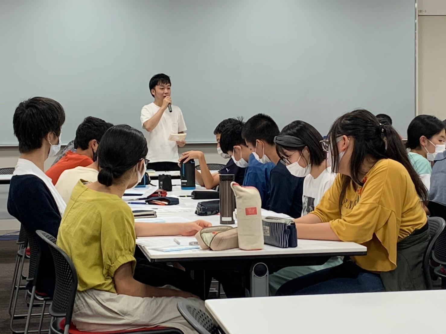 藤枝大さんの講演 サマー合宿(中1・中2)& 夏合宿(中3)_d0116009_18582251.jpg