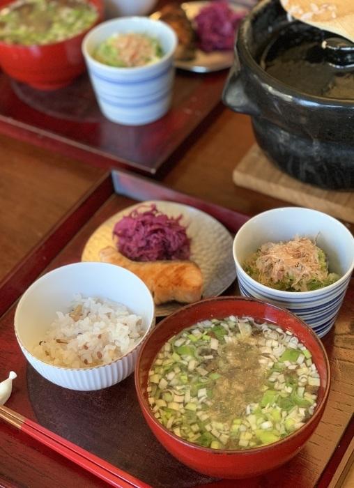 お野菜のソースとオートミール など 朝食写真_e0178312_03075092.jpeg
