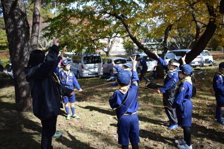 【カブ隊】11月チャレンジ章報告集会_c0221521_07392328.jpg