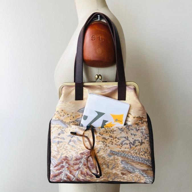 着物リメイク・帯からbagにリメイク_d0127925_16115269.jpg