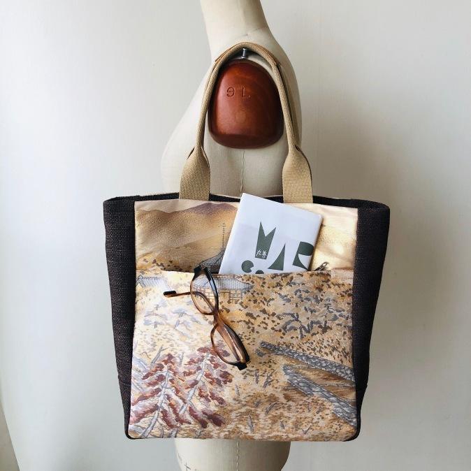 着物リメイク・帯からbagにリメイク_d0127925_16115960.jpg
