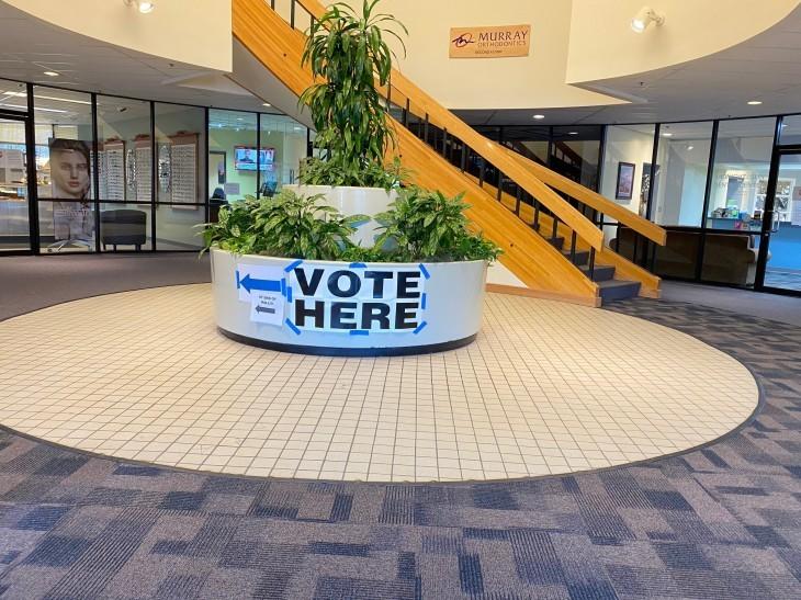 アメリカ大統領選挙 投票に行ってきた~!_b0135948_09394258.jpg