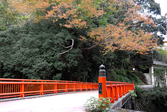 秋の湯香里橋_b0145257_18542108.jpg