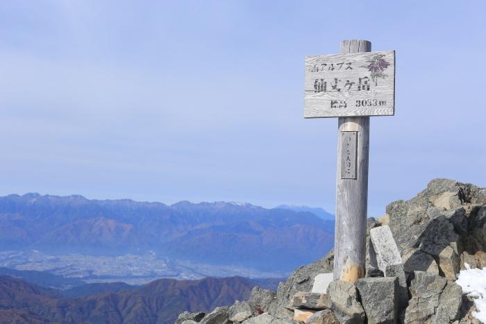 仙丈ヶ岳 201031-1101 大好きな山 2日目_e0338862_19261803.jpg