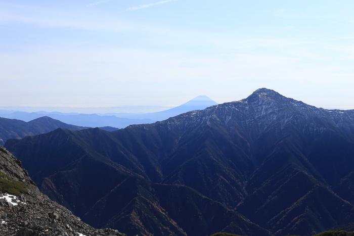 仙丈ヶ岳 201031-1101 大好きな山 2日目_e0338862_19263570.jpg