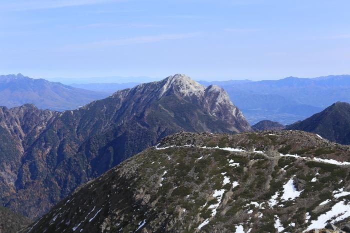 仙丈ヶ岳 201031-1101 大好きな山 2日目_e0338862_19265611.jpg