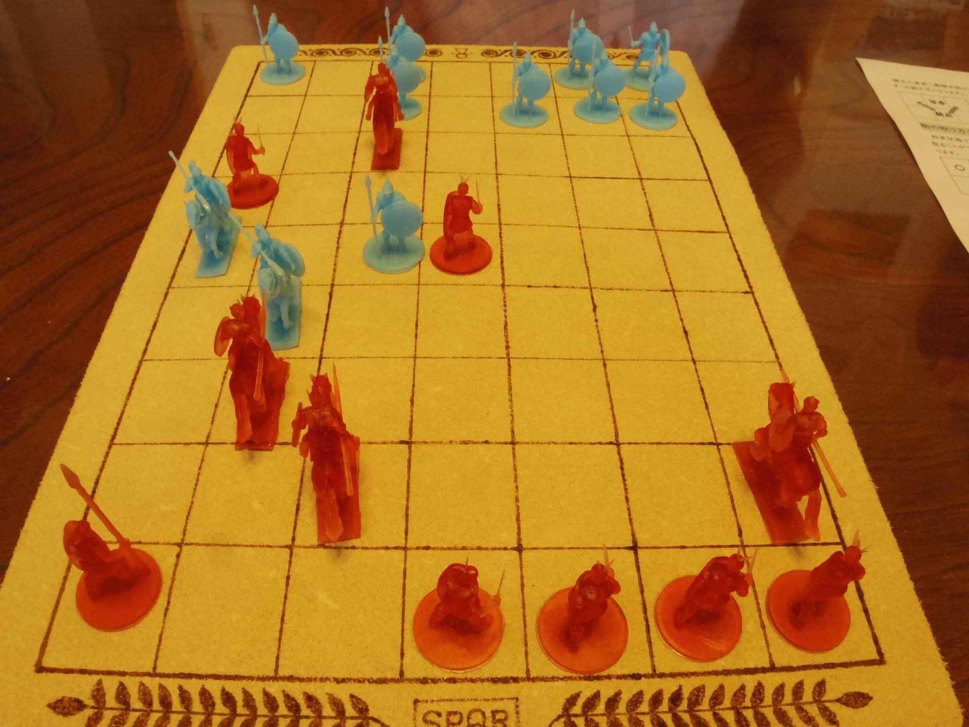 〔堀場工房〕謹製 『古代兵棋』の初お目見えは11月14日のゲームマーケットにて(転売対策で逐次受注通販予定とのこと)_b0173672_09451045.jpg