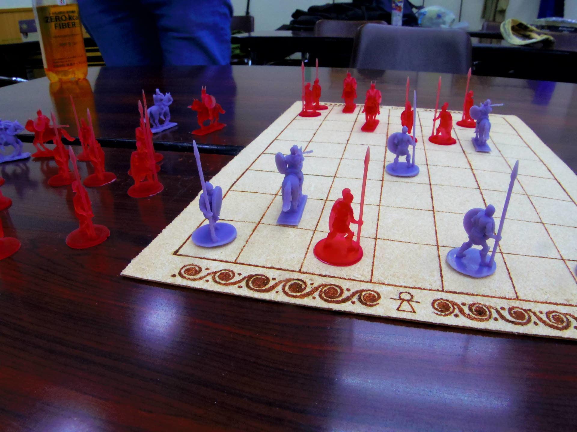 〔堀場工房〕謹製 『古代兵棋』の初お目見えは11月14日のゲームマーケットにて(転売対策で逐次受注通販予定とのこと)_b0173672_21354844.jpg