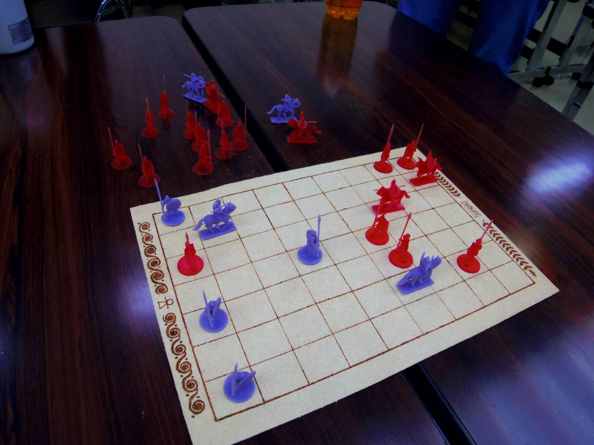 〔堀場工房〕謹製 『古代兵棋』の初お目見えは11月14日のゲームマーケットにて(転売対策で逐次受注通販予定とのこと)_b0173672_21354875.jpg