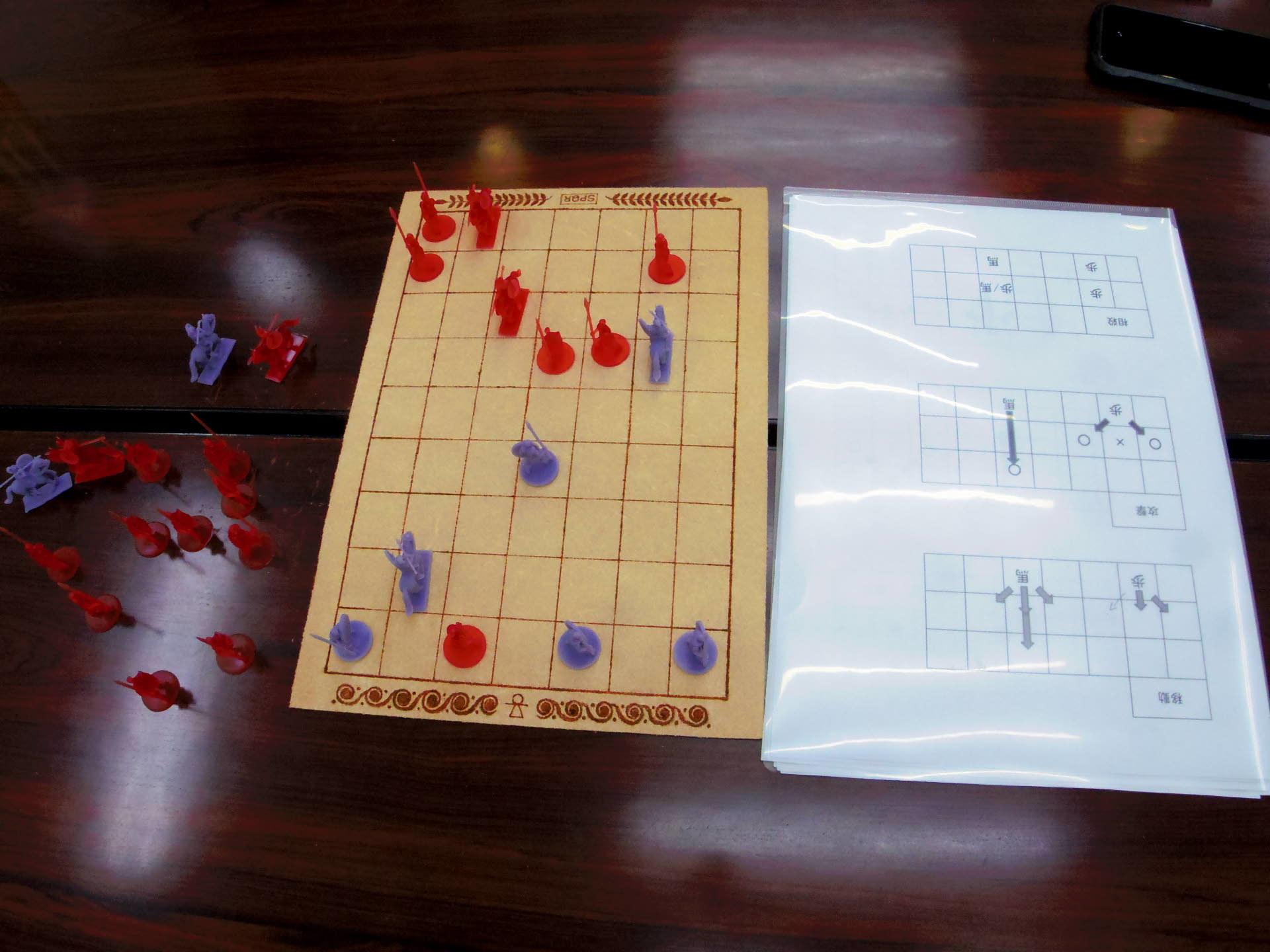 〔堀場工房〕謹製 『古代兵棋』の初お目見えは11月14日のゲームマーケットにて(転売対策で逐次受注通販予定とのこと)_b0173672_21354983.jpg