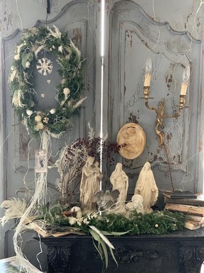 クリスマスリース2020 今年はオーバルに♪_e0237680_13290031.jpg