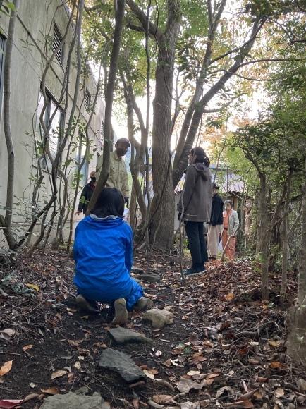 庭師・高橋さんが来た!/苔を探して散策/茶庭養生_e0156224_18470522.jpg