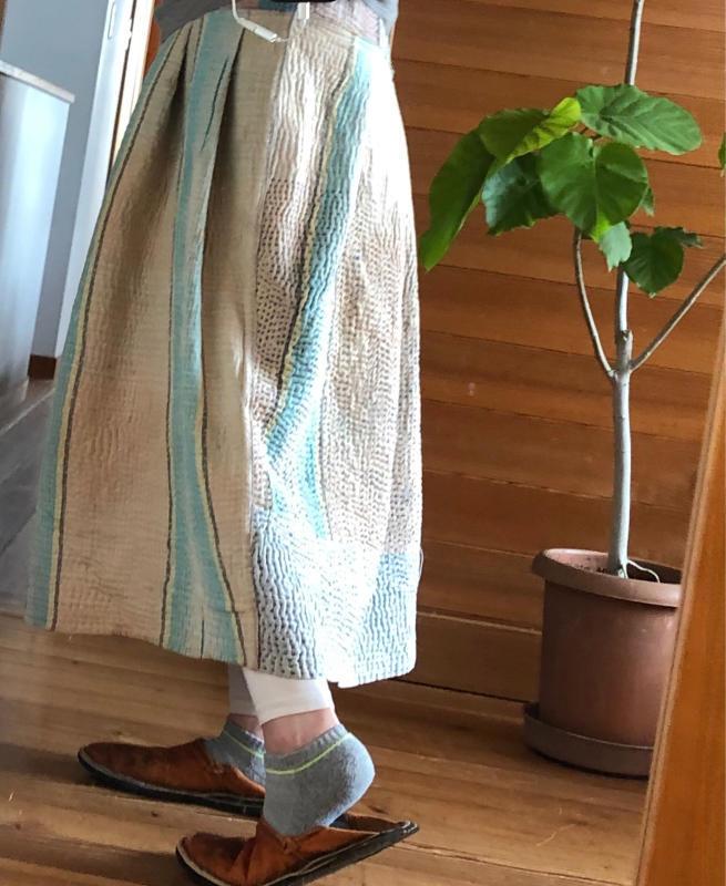 刺し子のバルーンスカート_e0353125_15201365.jpg