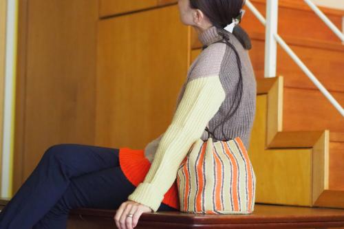 新作「kinchaku bag」できました_e0243765_17360468.jpg