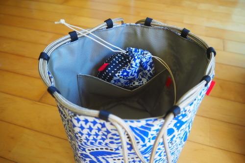 新作「kinchaku bag」できました_e0243765_17464134.jpg