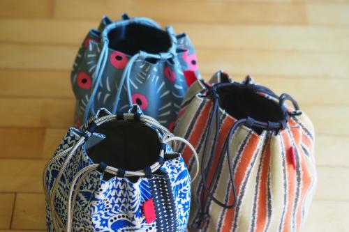 新作「kinchaku bag」できました_e0243765_17475597.jpg