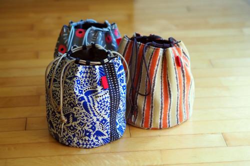 新作「kinchaku bag」できました_e0243765_17480486.jpg