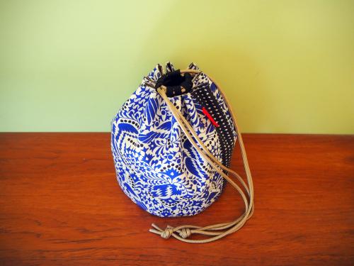 新作「kinchaku bag」できました_e0243765_18483075.jpg