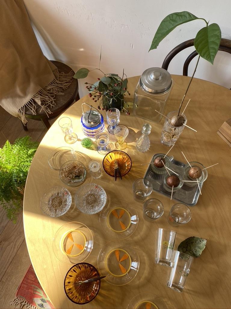 レトロなガラス小物 & 手作りお弁当_c0334574_17190236.jpeg