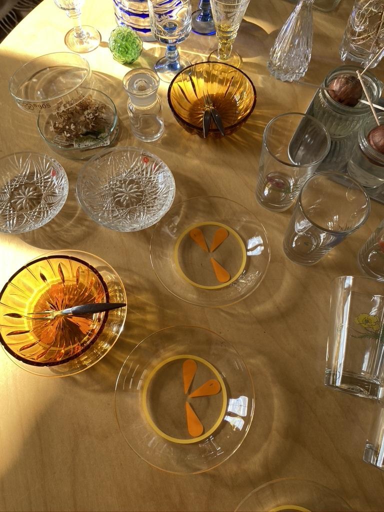 レトロなガラス小物 & 手作りお弁当_c0334574_17201587.jpeg
