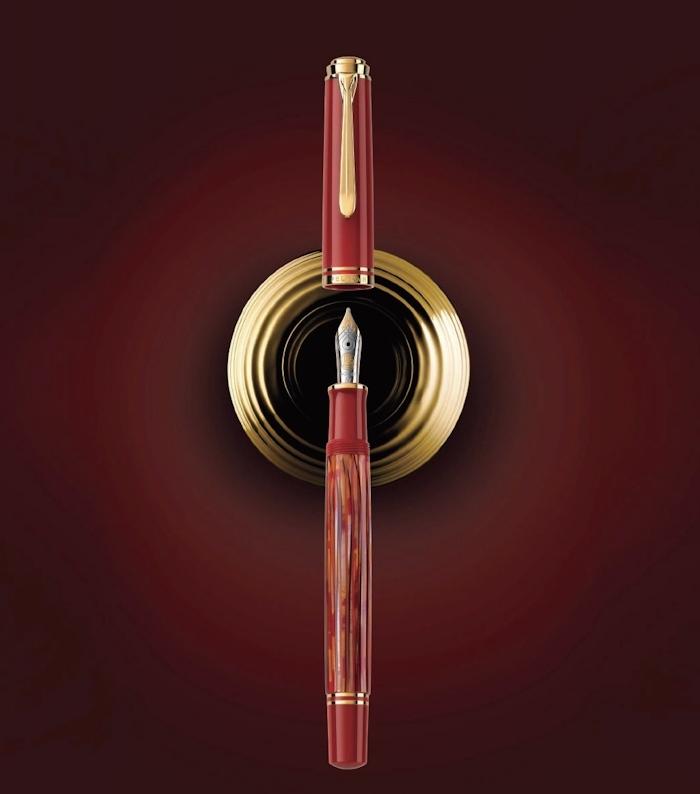 ペリカン特別生産品「スーベレーン600 トータスシェルレッド」_e0200879_14535718.jpg