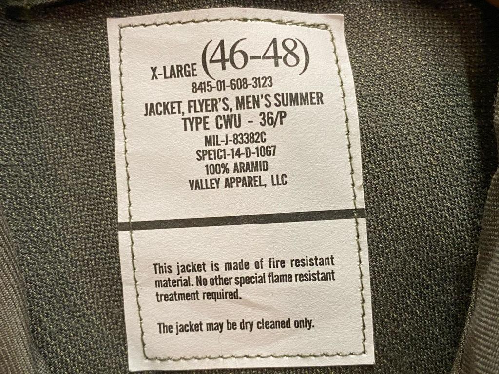11月7日(土)マグネッツ大阪店モダンミリタリー入荷日!! #4 FlyersJKT & Experimental編!! CWU-45/P,36/P,9/P,AirCrew,Glove!!_c0078587_13305877.jpg