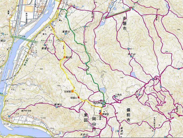 熊山 竜の岩から反射板コースを登る!の巻_f0325295_17203242.jpg