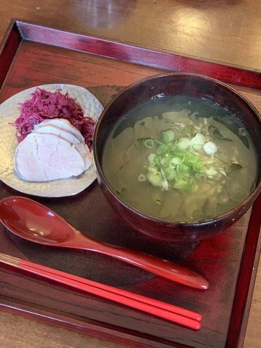 お野菜のソースとオートミール など 朝食写真_e0178312_02421696.jpeg