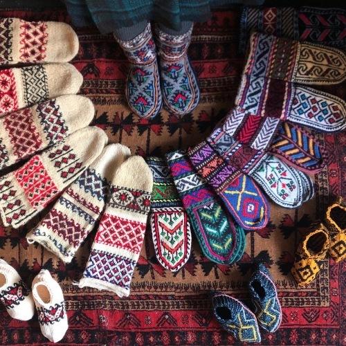 イランのおばあちゃんの手編み靴下展vol.4_d0156336_23174264.jpg