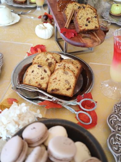 フルーツケーキ 紅茶マカロン パンナコッタのレッスン_d0210450_14445875.jpg