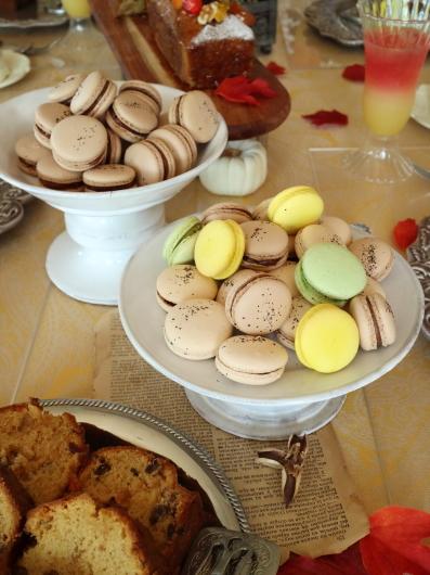 フルーツケーキ 紅茶マカロン パンナコッタのレッスン_d0210450_14462445.jpg