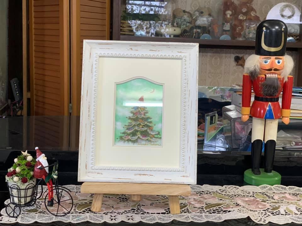 頑張る力&クリスマス飾りつけ完成☆_e0040673_20005282.jpg