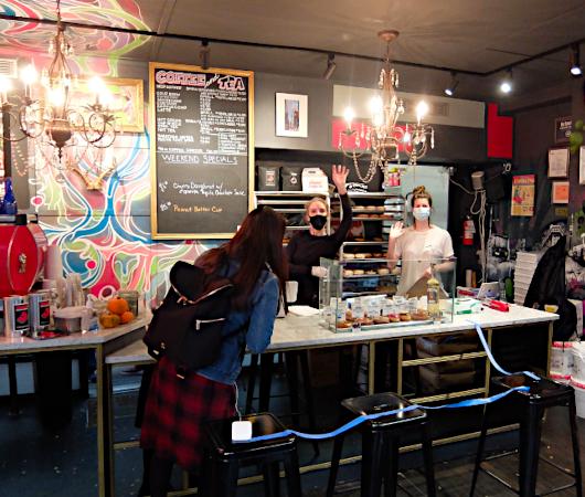 今、ニューヨークで最注目のドーナツ屋さん、 The Doughnut Project_b0007805_01283632.jpg
