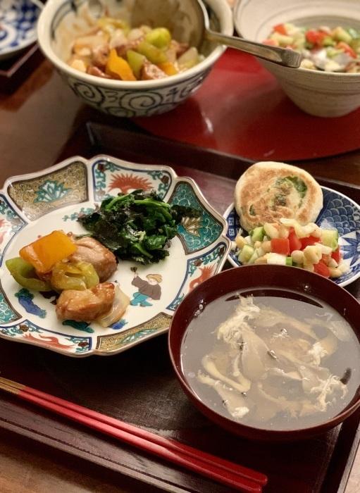 お家中華 など 夕食写真_e0178312_02595726.jpeg