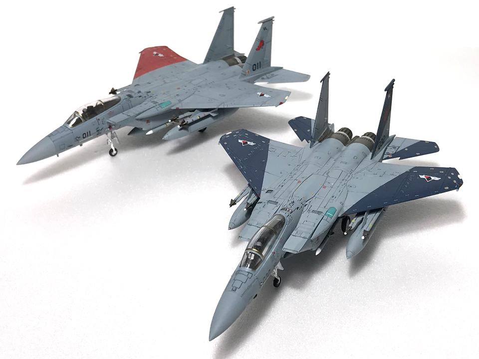 技MIX 1/144 エースコンバット F-15C ガルム1・ガルム2_b0055614_22481559.jpg