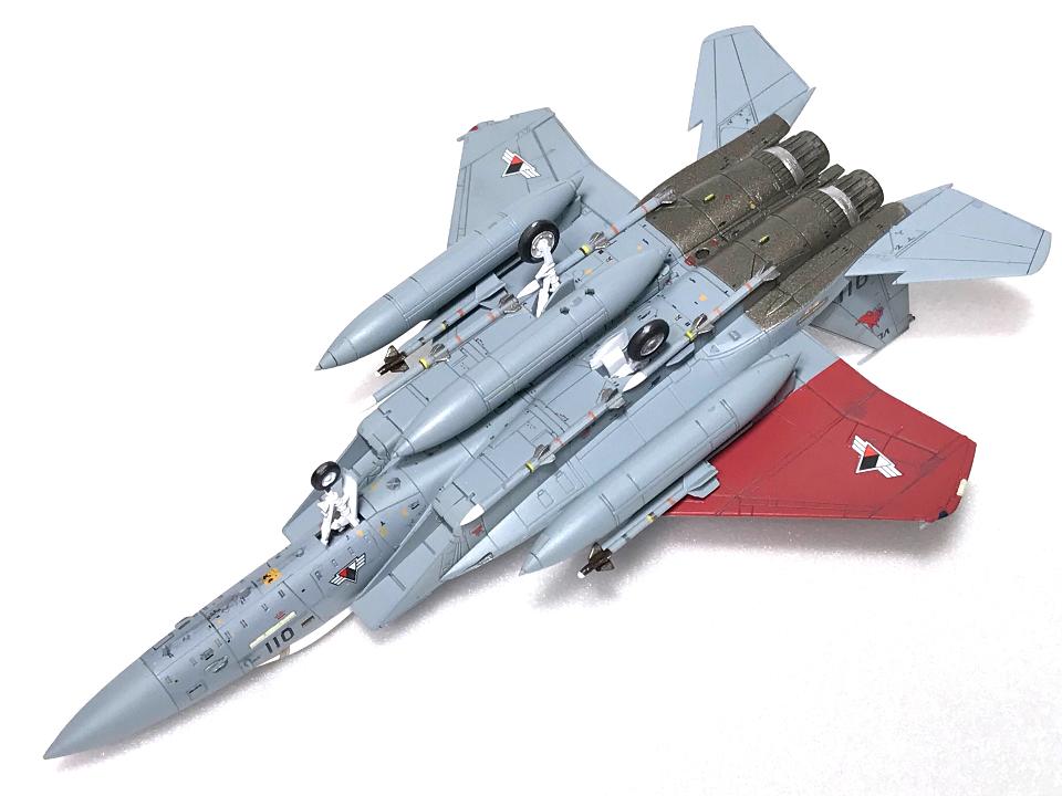 技MIX 1/144 エースコンバット F-15C ガルム1・ガルム2_b0055614_23201278.jpg