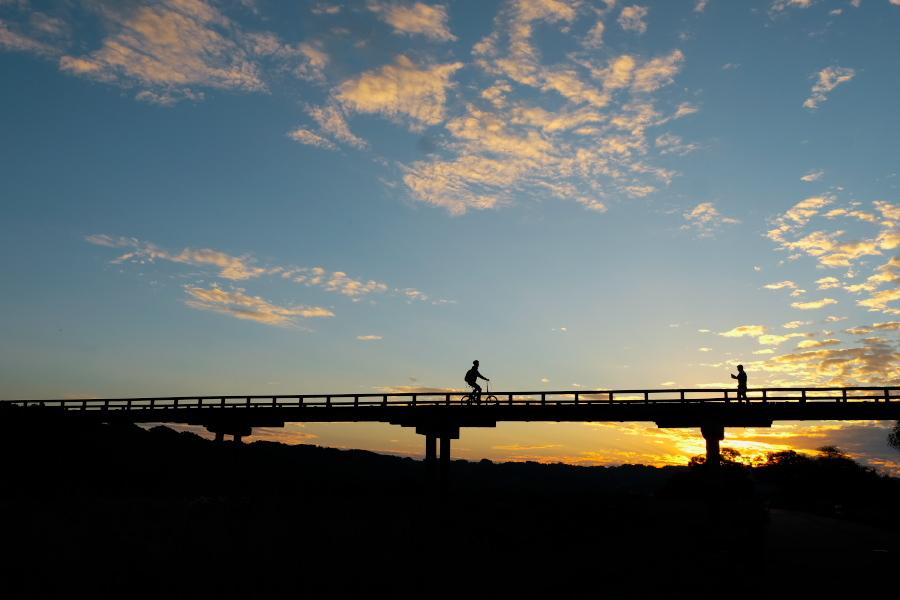 蓬莱橋 夕景 11月_e0243382_22220944.jpg