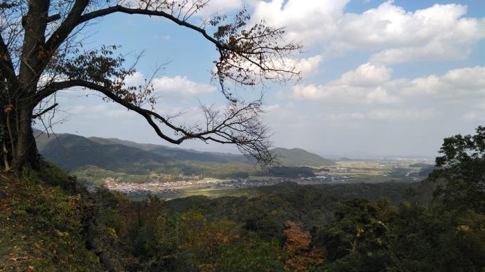 久々の月山富田城は絶景スポットになっていた_c0016259_21255035.jpg