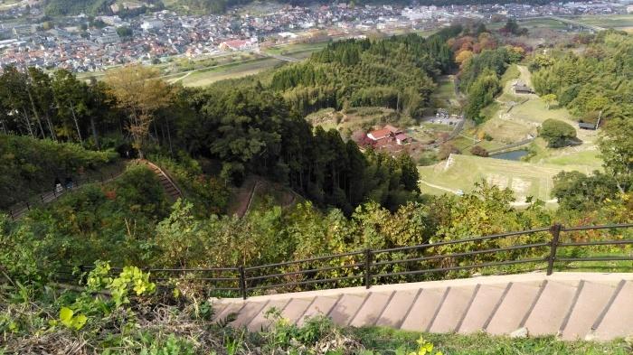久々の月山富田城は絶景スポットになっていた_c0016259_21335526.jpg