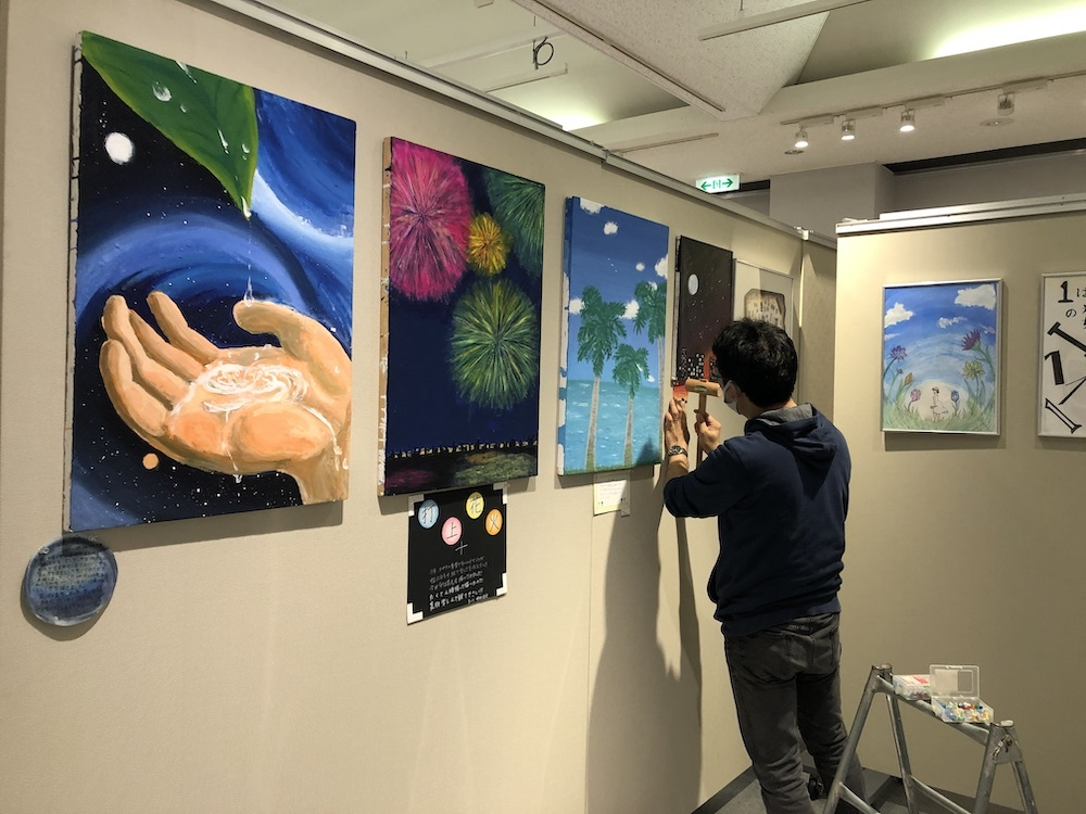 図工・美術の日ー中学校・高校・大学がつながって作品展_b0068572_11284455.jpeg