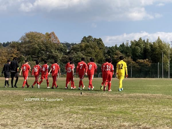 【U-14 CLUB YOUTH 新人大会】vs エルブランカ November 8, 2020_c0365198_18133817.jpg