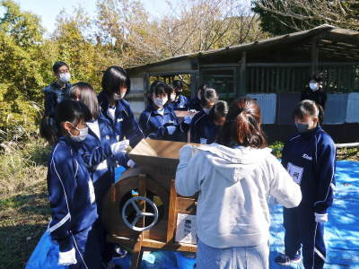 熊本県立菊池高等学校の生徒さんたちが研修にやってきました!(2020/前編)_a0254656_19263390.jpg